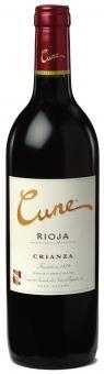 Cune Crianza 2011 online preiswert kaufen, EXZELLENTER Rotwein, 90 Punkte GP & 5 Sterne Preis / Genußverhältnis!