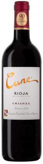 Cune Crianza 2012 online günstig kaufen, EXZELLENTER Rotwein, 90 Punkte Guia Penin & Robert Parker