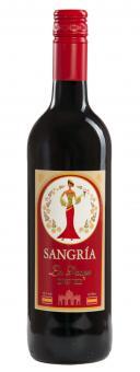 12x0.75l leckere fertige rote Premium-Sangria